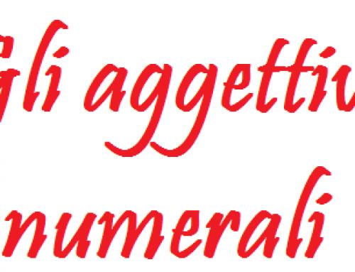 Analisi grammaticale: aggettivi numerali
