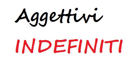 Aggettivi indefiniti ecco spiegata l 39 analisi grammaticale - Diversi analisi grammaticale ...